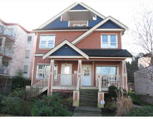 Main Photo: 1738 E GEORGIA Street in Vancouver: Hastings Townhouse for sale (Vancouver East)  : MLS®# V811235
