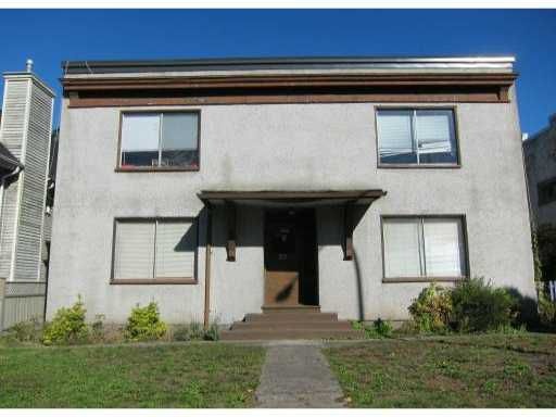 Main Photo: 25 W 12TH Avenue in Vancouver: Mount Pleasant VW House Fourplex for sale (Vancouver West)  : MLS®# V853365