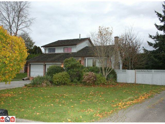 Main Photo: 2052 BOWLER Drive in Surrey: King George Corridor House for sale (South Surrey White Rock)  : MLS®# F1026352