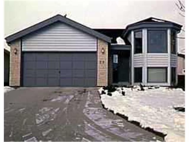 Main Photo: 63 MONTICELLO Road in WINNIPEG: Fort Garry / Whyte Ridge / St Norbert Residential for sale (South Winnipeg)  : MLS®# 9721087