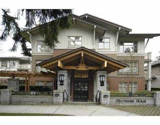 """Main Photo: 120 2083 W 33RD Avenue in Vancouver: Quilchena Condo for sale in """"DEVONSHIRE HOUSE"""" (Vancouver West)  : MLS®# V772875"""