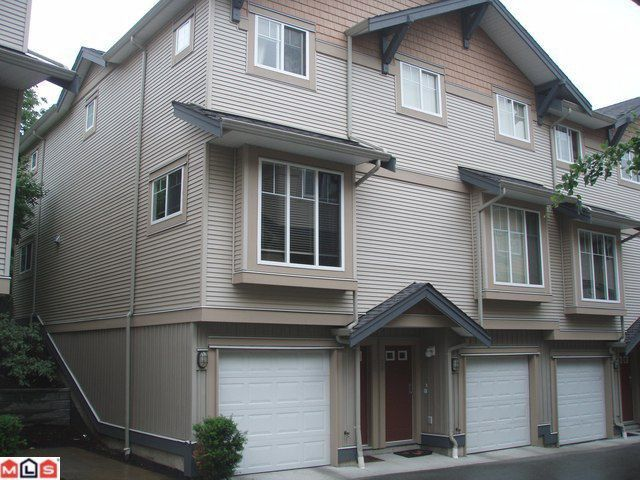 """Main Photo: 38 5839 PANORAMA Drive in Surrey: Sullivan Station Townhouse for sale in """"FOREST GATE"""" : MLS®# F1016283"""