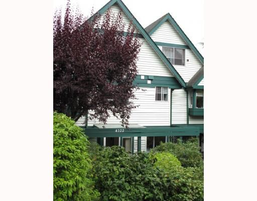 Main Photo: 4322 SOPHIA Street in Vancouver: Main Townhouse for sale (Vancouver East)  : MLS®# V781784
