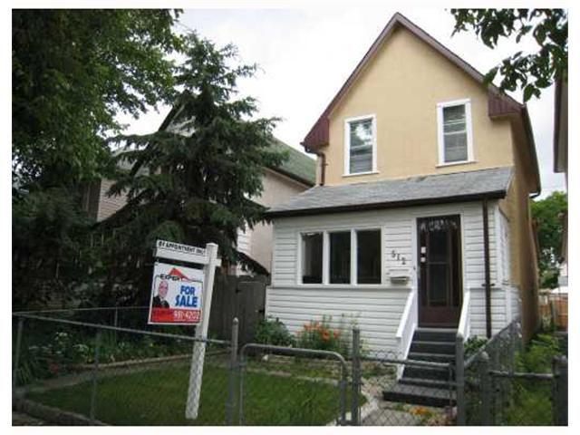 Main Photo: 512 AGNES Street in WINNIPEG: West End / Wolseley Residential for sale (West Winnipeg)  : MLS®# 2912539