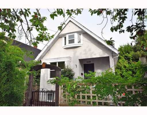 """Main Photo: 2648 PRINCE ALBERT Street in Vancouver: Mount Pleasant VE House for sale in """"MOUNT PLEASANT"""" (Vancouver East)  : MLS®# V785999"""