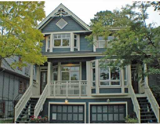 Main Photo: 1852 GRANT Street in Vancouver: Grandview VE House 1/2 Duplex for sale (Vancouver East)  : MLS®# V733615