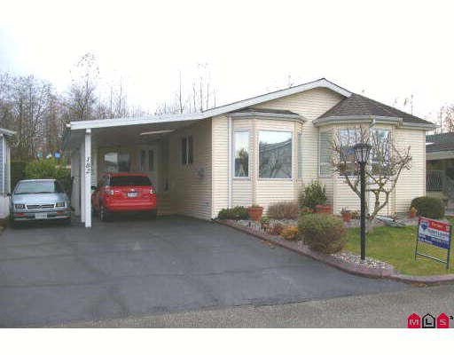 """Main Photo: 182 9055 ASHWELL Road in Chilliwack: Chilliwack W Young-Well Manufactured Home for sale in """"RAINBOW COMMUNITY ESTATES"""" : MLS®# H2805879"""