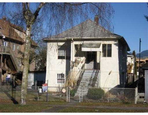 Main Photo: 2155 FERNDALE Street in Vancouver: Hastings House for sale (Vancouver East)  : MLS®# V753145