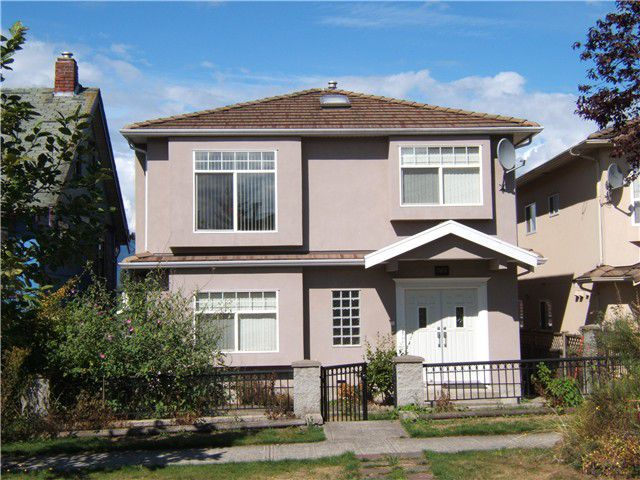 "Main Photo: 3161 E 20TH Avenue in Vancouver: Renfrew Heights House for sale in ""RENFREW HEIGHTS"" (Vancouver East)  : MLS®# V854441"