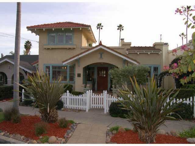 Main Photo: MISSION HILLS Residential for sale : 3 bedrooms : 1797 Fort Stockton Dr in San Diego
