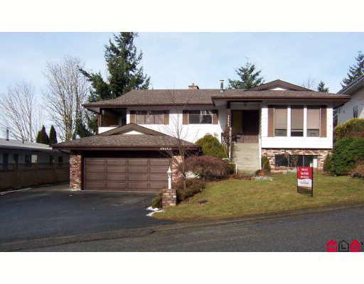 Main Photo: 34563 ACORN Avenue in Abbotsford: Abbotsford East House for sale : MLS®# F2902032