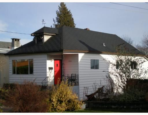 Main Photo: 1510 8TH Avenue in New Westminster: West End NW House for sale : MLS®# V808550