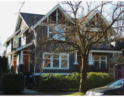 """Main Photo: 166 W 14TH Avenue in Vancouver: Mount Pleasant VW Townhouse for sale in """"HALLHAUS"""" (Vancouver West)  : MLS®# V811944"""