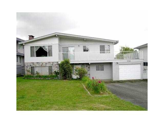 Main Photo: 4536 IRMIN Street in Burnaby: Metrotown House for sale (Burnaby South)  : MLS®# V824182