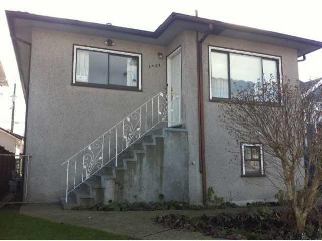 Main Photo: 2452 E GEORGIA Street in Vancouver: Renfrew VE House for sale (Vancouver East)  : MLS®# V868719