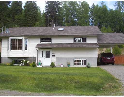 """Main Photo: 2072 CROFT Road in Prince George: Ingala House for sale in """"INGALA"""" (PG City North (Zone 73))  : MLS®# N184312"""