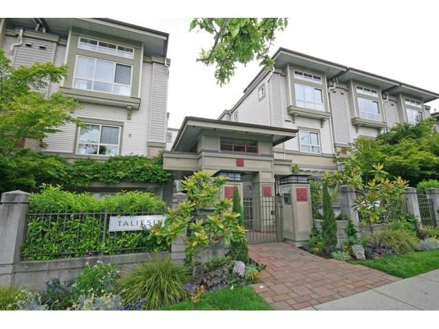 """Main Photo: 30 2375 W BROADWAY in Vancouver: Kitsilano Townhouse for sale in """"TALIESIN"""" (Vancouver West)  : MLS®# V834617"""