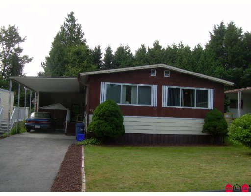 "Main Photo: 81 7850 KING GEORGE Highway in Surrey: East Newton Manufactured Home for sale in ""Bear Creek Glen"" : MLS®# F2826370"