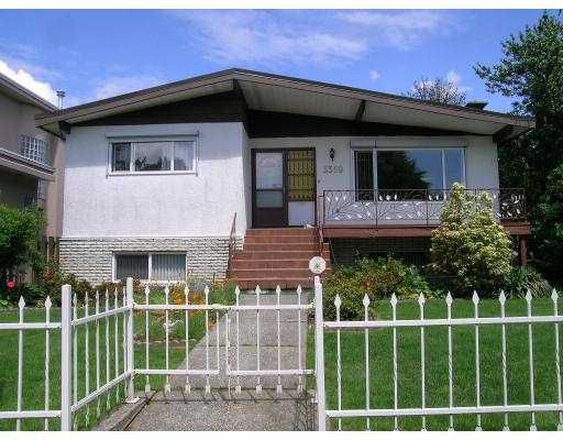 Main Photo: 3369 E 49TH Avenue in Vancouver: Killarney VE House for sale (Vancouver East)  : MLS®# V741013