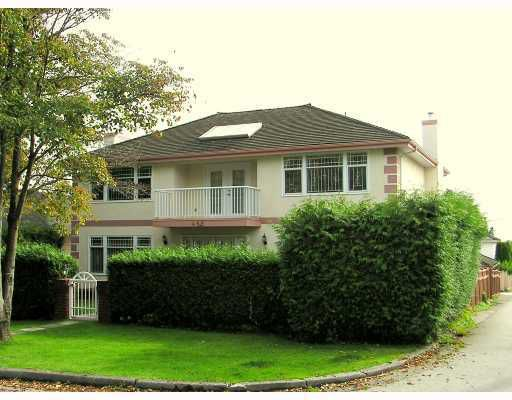 """Main Photo: 488 W 62ND Avenue in Vancouver: Marpole House for sale in """"MARPOLO"""" (Vancouver West)  : MLS®# V782716"""