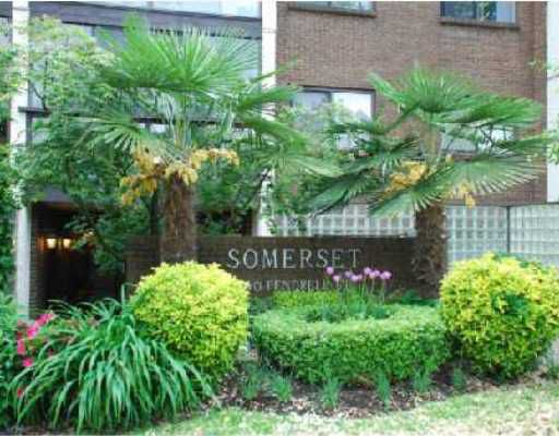 """Main Photo: 204 1140 PENDRELL Street in Vancouver: West End VW Condo for sale in """"SOMERSET"""" (Vancouver West)  : MLS®# V736837"""
