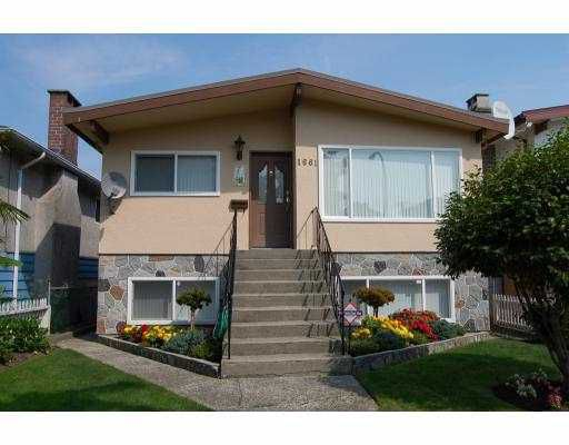 Main Photo: 1661 E 36TH Avenue in Vancouver: Knight House for sale (Vancouver East)  : MLS®# V782560