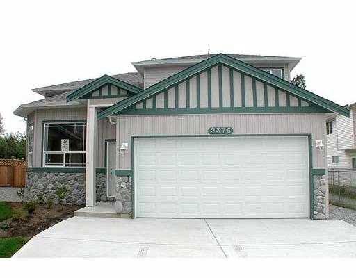 Main Photo: 2376 MARSHALL AV in Port Coquiltam: Mary Hill House for sale (Port Coquitlam)  : MLS®# V579531
