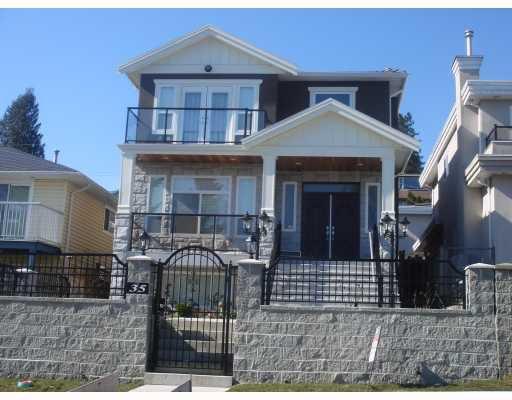 "Main Photo: 35 HOLDOM Avenue in Burnaby: Capitol Hill BN House for sale in ""CAPITOL HILL"" (Burnaby North)  : MLS®# V756730"