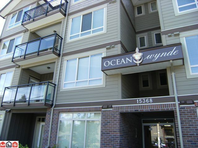 "Main Photo: 107 15368 17A Avenue in Surrey: King George Corridor Condo for sale in ""Ocean Wynde"" (South Surrey White Rock)  : MLS®# F1013181"