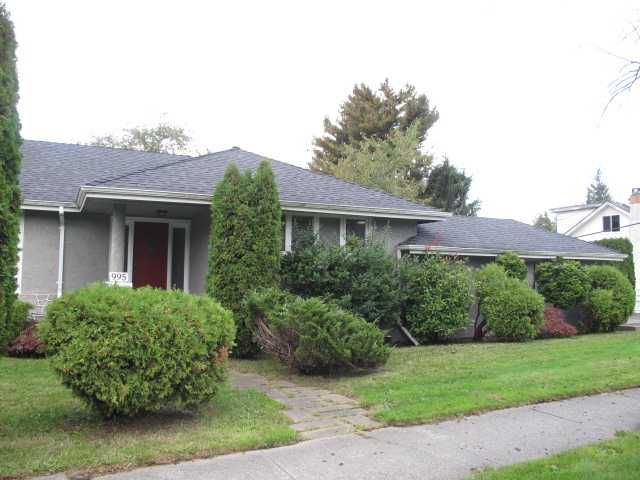 Main Photo: 995 W 33RD Avenue in Vancouver: Cambie House for sale (Vancouver West)  : MLS®# V858476