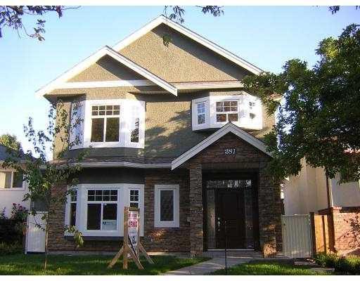 Main Photo: 281 W 49TH AV in Vancouver: Oakridge VW House for sale (Vancouver West)  : MLS®# V614178