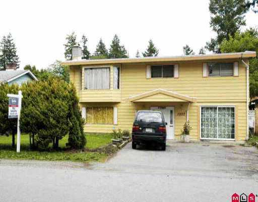 Main Photo: 10532 128TH Street in Surrey: Cedar Hills House for sale (North Surrey)  : MLS®# F2610806