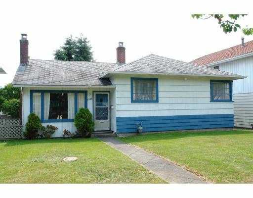 Main Photo: 1262 E 51ST Avenue in Vancouver: South Vancouver House for sale (Vancouver East)  : MLS®# V719603