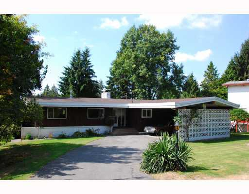 Main Photo: 5570 MONARCH Street in Burnaby: Deer Lake Place House for sale (Burnaby South)  : MLS®# V784753