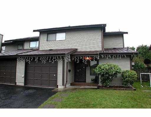 """Main Photo: 21 21550 CHERRINGTON AV in Maple Ridge: West Central Townhouse for sale in """"MAPLE RIDGE ESTATES"""" : MLS®# V553612"""