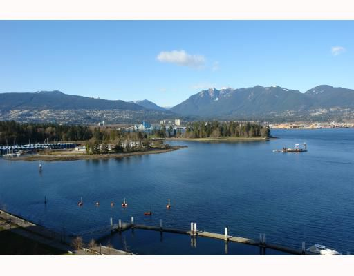 """Main Photo: 1401 1169 W CORDOVA Street in Vancouver: Coal Harbour Condo for sale in """"ONE HARBOUR GREEN"""" (Vancouver West)  : MLS®# V755617"""