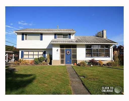 "Main Photo: 3311 ULLSMORE Avenue in Richmond: Seafair House for sale in ""THE MORES"" : MLS®# V812222"