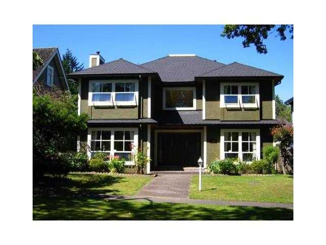Main Photo: 3853 W 34TH Avenue in Vancouver: Dunbar House for sale (Vancouver West)  : MLS®# V859591