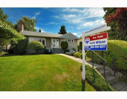 Main Photo: 3168 W 19TH Avenue in Vancouver: Arbutus House for sale (Vancouver West)  : MLS®# V777888