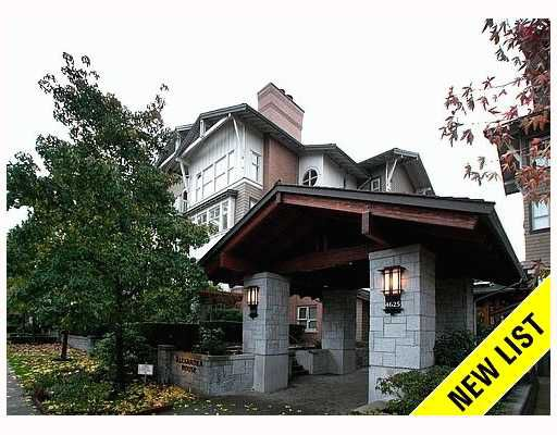 """Main Photo: 1306 4655 VALLEY Drive in Vancouver: Quilchena Condo for sale in """"ALEXANDRA HOUSE"""" (Vancouver West)  : MLS®# V797450"""