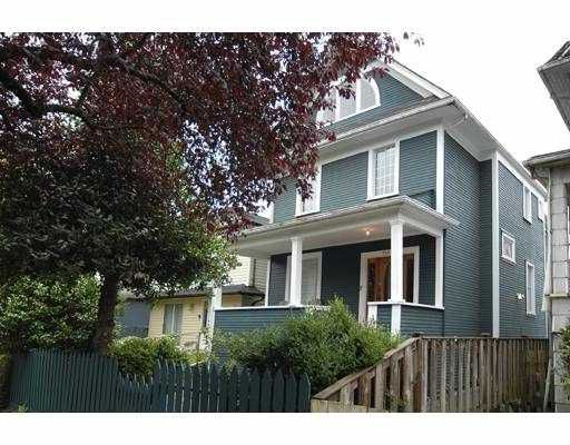 Main Photo: 748 E 13TH Avenue in Vancouver: Mount Pleasant VE House Triplex for sale (Vancouver East)  : MLS®# V736577