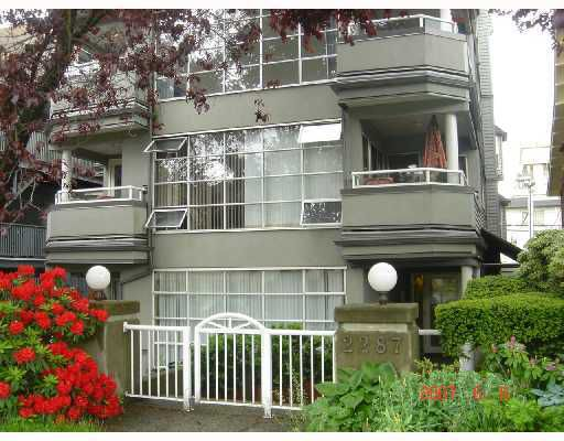 Main Photo: 202 2287 W 3RD Avenue in Vancouver: Kitsilano Condo for sale (Vancouver West)  : MLS®# V768438