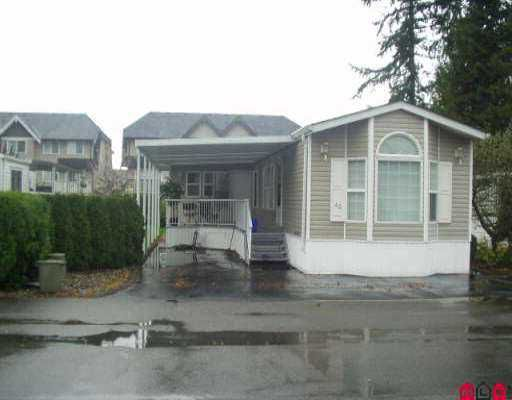 """Main Photo: 43 15820 FRASER HY in Surrey: Fleetwood Tynehead Manufactured Home for sale in """"Greentree Estates"""" : MLS®# F2524593"""