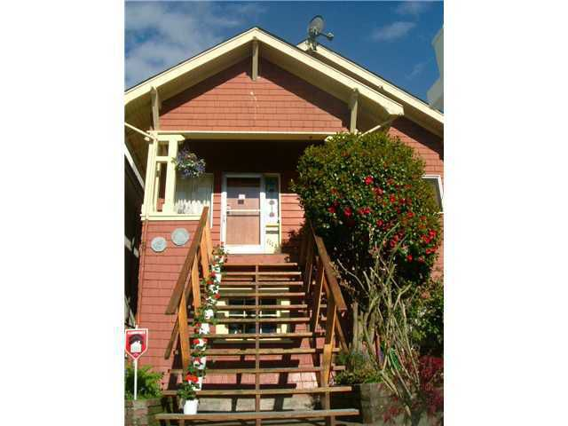 Main Photo: 1112 ROSE Street in Vancouver: Grandview VE House for sale (Vancouver East)  : MLS®# V835245