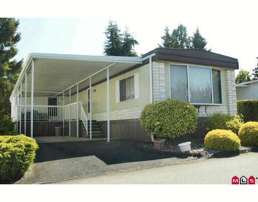 Main Photo: 73 15875 20TH Avenue in Surrey: King George Corridor Manufactured Home for sale (South Surrey White Rock)  : MLS®# F2916340