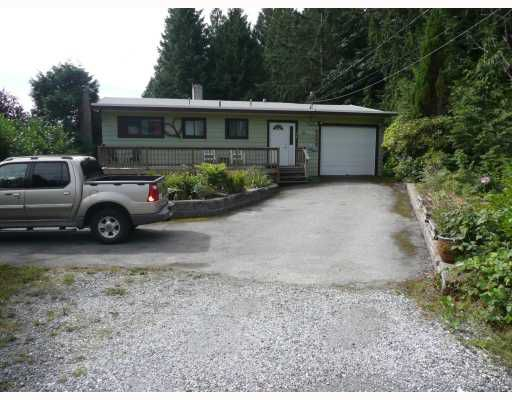 Main Photo: 6589 ACORN Road in Sechelt: Sechelt District House for sale (Sunshine Coast)  : MLS®# V781539