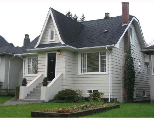 Main Photo: 3055 WATERLOO Street in Vancouver: Kitsilano House for sale (Vancouver West)  : MLS®# V745267