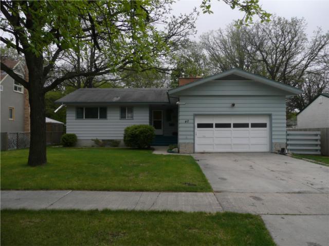 Main Photo: 40 Nichol Avenue in WINNIPEG: St Vital Residential for sale (South East Winnipeg)  : MLS®# 1007834