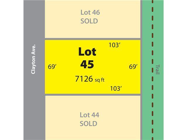 """Main Photo: # LOT 45 CLAYTON AV in Sechelt: Sechelt District Home for sale in """"TRAIL BAY ESTATES"""" (Sunshine Coast)  : MLS®# V837940"""