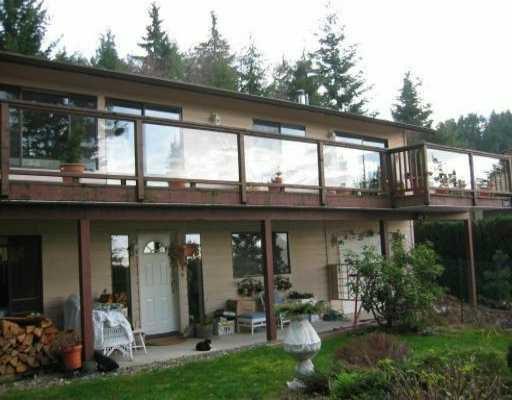Main Photo: 1569 WHITE SAILS DR: Bowen Island House for sale : MLS®# V514830